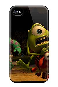 PsDOLcP610ESmJN Danlder Awesome Case Cover Compatible With Iphone 4/4s - Monsters University Movie