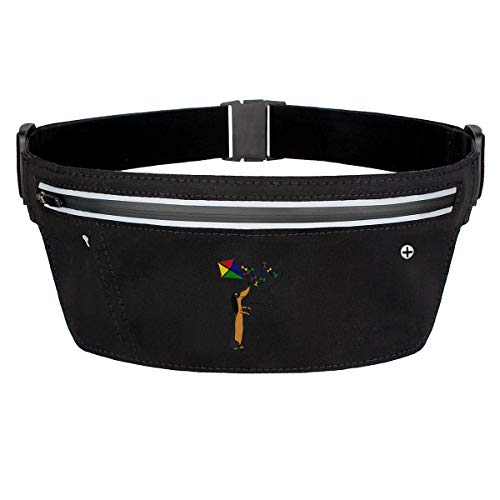 Rainbow Magnet Dachshund Dog Animal Fanny Pack Waist Bag Sling Pocket Super Lightweight Running Belt Bags For Men/Women