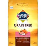 Nature's Recipe Grain Free Easy to Digest Dry Dog Food, Salmon, Sweet Potato & Pumpkin Recipe, 24-Pound For Sale