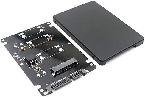 Mini PCI-E MSATA SSD a SATA de 2,5 Pulgadas Disco Duro recinto ...