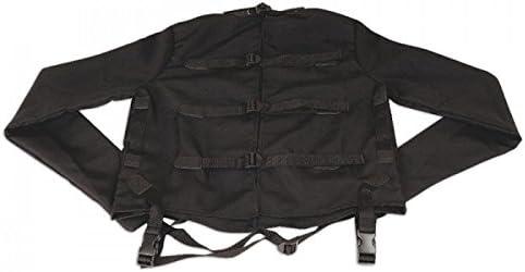 LUX FETISH camisa de fuerza tamaño negro S/M: Amazon.es: Salud y cuidado personal