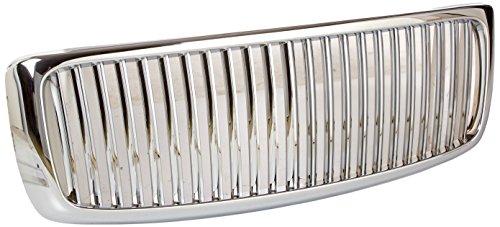 2005 Dodge Ram Slt - Spec-D Tuning HG-RAM02CVT Dodge Ram 1500 St Slt Chrome Vertical Front Grille