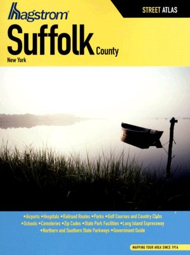 Hagstrom Suffolk County, New York (Hagstrom Suffolk County Atlas Large Scale)