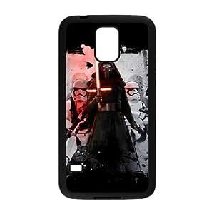 Star Wars L5I6Mb Funda Samsung Galaxy S5 caja del teléfono celular Funda Negro Diseño L1R5QU funda caja durable del teléfono