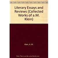 Literary essays and reviews