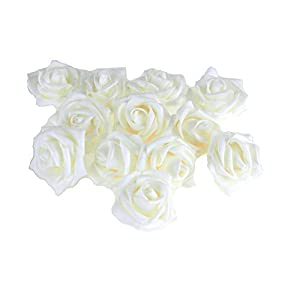 Party Spin Homeford Soft Touch Rose Flower, 12-Piece 32
