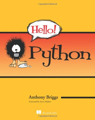 Hello! Python - Anthony Hello