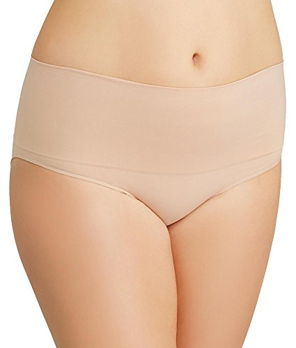 SPANX Plus Size Everyday Shaping Brief, 3X, Soft Nude