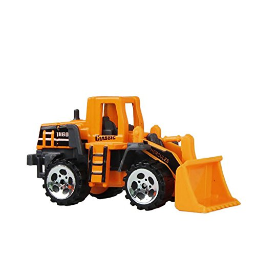 Diecast Tender (Construction Trucks Mini Cars Toy, Baifeng Assorted Construction Vehicles Die Cast Vehicle Forklift, Bulldozer, Road Roller, Excavator, Dump Truck Cars Model Toy For Boys Toddlers (A))