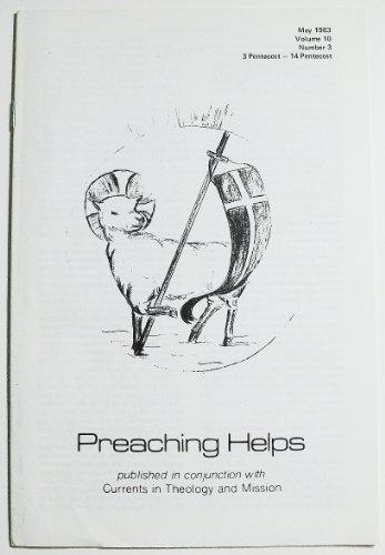 Preaching Helps (Volume 10 Number 3, May 1983)