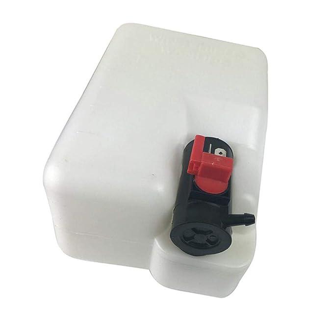 RUNMIND Kit de Bomba de Depósito Universal para Limpiaparabrisas de Coche (12 V, 1,5 L): Amazon.es: Coche y moto