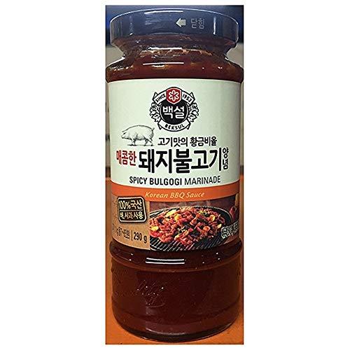 Beksul Spicy Bulgogi Marinade Korean BBQ Sauce 290g