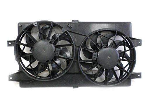 Dual Radiator and Condenser Fan Assembly - Cooling Direct For/Fit CH3115122 01-06 Chrysler Sebring Sedan/Convertible Stratus Sedan