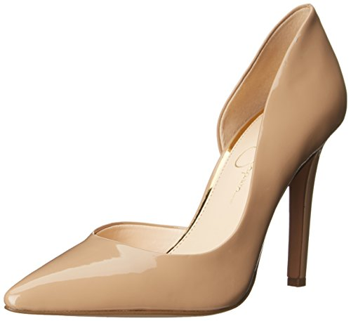 Jessica Simpson Women's Claudette Rubber Dress Pump,Nude,10 M US from Jessica Simpson