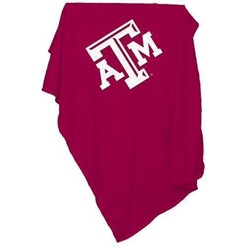 (NCAA Texas A&M Aggies Sweatshirt Blanket)
