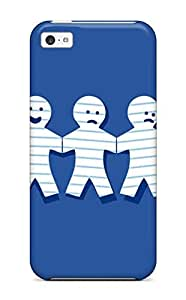 Lennie P. Dallas's Shop New Iphone 5c Case Cover Casing(funny Paperdolls)