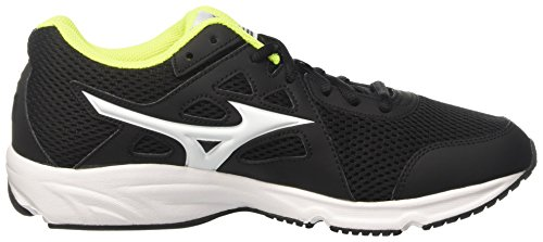Mizuno Spark - Zapatillas de running Hombre Multicolore (Black/White/Safety Yellow)
