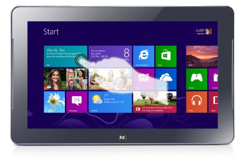 Samsung ATIV Tab 5 XE500T1C-N 11.6-Inch 64GB Windows 8 Smart PC Tablet (Tablet Only) - Mystic Blue - (Certified Refurbished)