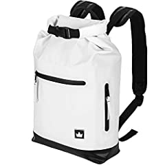 The Friendly Swede Waterproof Daypack with Laptop Compartment 13 Inch - Graneberg Collection. Ideal for bike commuters, city trips, from work to workout or other leisure activities.