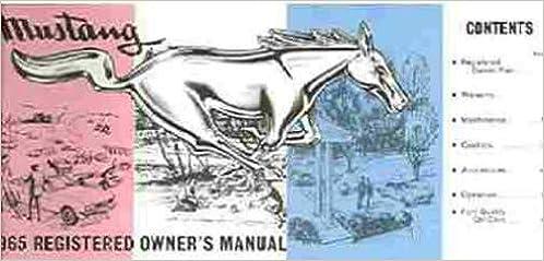 1965 mustang repair manual pdf