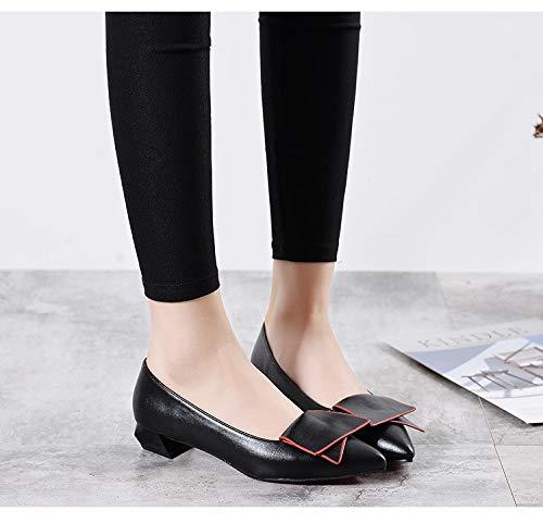 Femme en Chaussures Printemps Bout De Mocassins Décontractées Femmes Appartements Chaussures Plates Peau Femmes Chaussures Chaussures Femme Bas De Pointu Cuir Vache LIANGHUA B1PwSXqx1