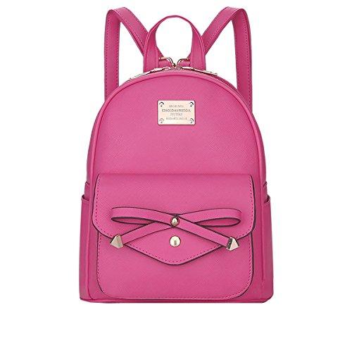 DISSA - Bolso mochila para mujer One size Rose