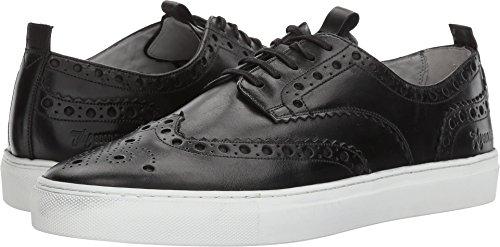 Grenson Men's Wingtip Sneaker Sneaker 3 Black Calf 7 M UK
