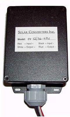 Solar Converters CV 12/36-4PV 12 V Solar Panel to 36 V Lead Acid Battery Charger