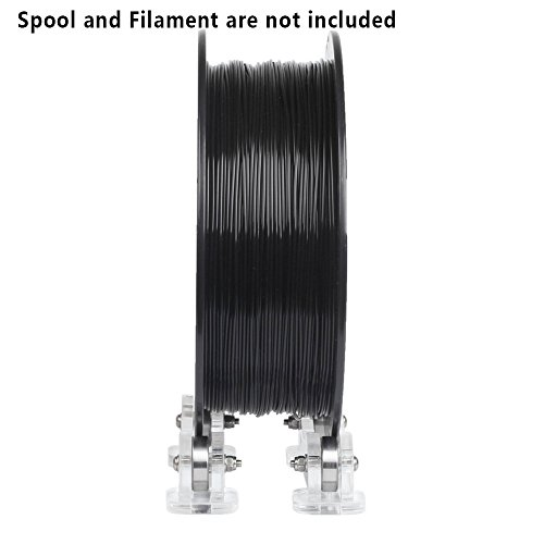 Creker 3D Printer Filament Holder Extra Smooth 3D Filament Spool Holder with Bearing New Design