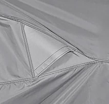 Grey XXX-Large Dowco Guardian 50006-03 WeatherAll Waterproof Indoor//Outdoor Motorcycle Cover