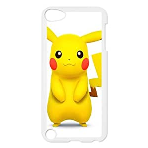 Custom Pikachu Back Cover Case for ipod Touch 5 JNIPOD5-153