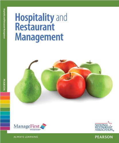 ManageFirst: Hospitality and Restaurant Management