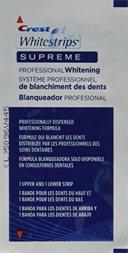 Crest Whitestrips Supreme Professional Whitening 84 strips by Unknown by Unknown