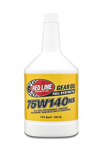 Red Line 57104 75W140NS GL-5 Gear Oil, 1 Quart, 1 Pack