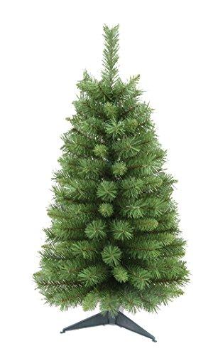 Workshop Santa Christmas Tree Decoration (Santa's Workshop 15930 Canadian Pine Tree, 3',,)
