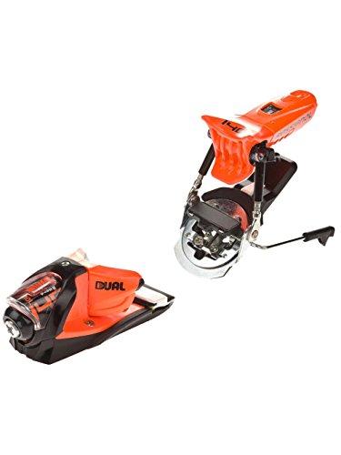 Rossignol FKS 140 Dual WTR Ski Bindings Fluorescent Orange 95