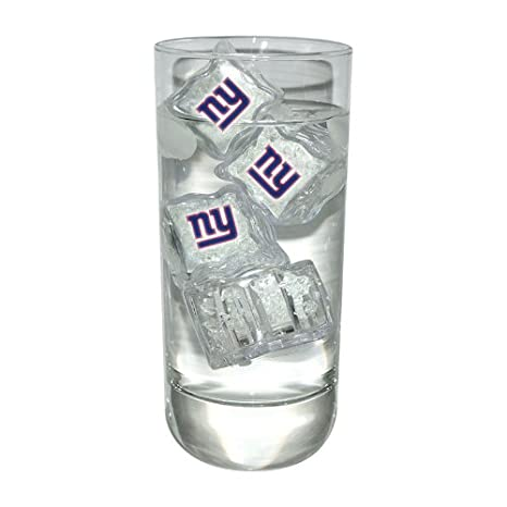 amazon com nfl light up ice cubes set of 4 nfl team new york