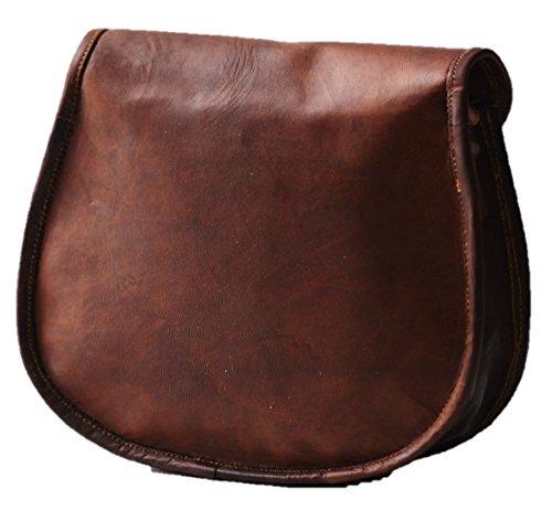 Messenger Bag Leather Dezire Cross Women's Body Urban Brown Vintage 1wR7Hgq