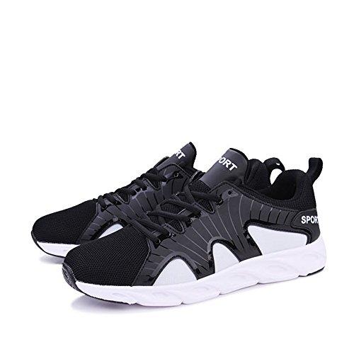 White Scarpe Uomo Corsa Black da Shufang shoes ZYqwpgwn6
