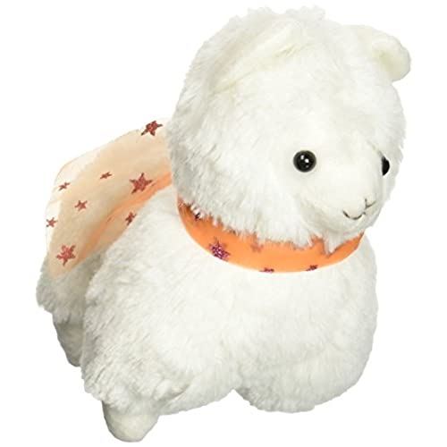 White Arpakasso Alpaca Plush Toy Soft Animal Stuffed Ribbon Doll For Kid Gift 7