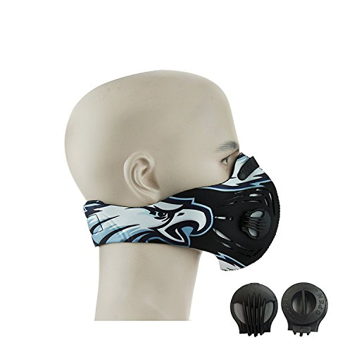 CFORWARD-Dustproof-Mask-Activated-Carbon-Filtration-Exhaust-Gas-Anti-Pollen-Allergy-PM211-Face-Mask-for-Running-Cycling-and-Other-Outdoor-Activities591YL