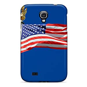 RAndersons Premium Protective Hard Case For Galaxy S4- Nice Design - For All My Great American Friends