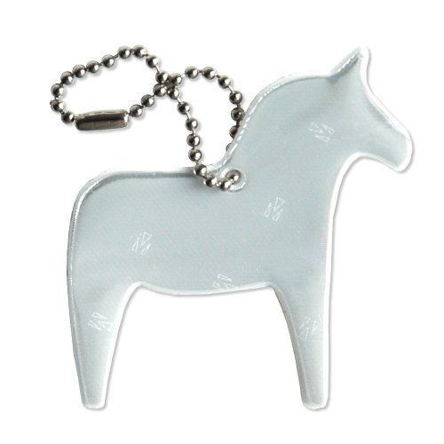 UPC 700729827949, funflector Safety Reflector - Dala Horse - White - 1-pack
