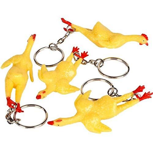 Rhode Island Novelty Rubber Chicken Keychains