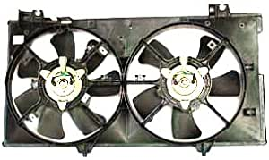 TYC 621180 Mazda Mazda6 Replacement Radiator//Condenser Cooling Fan Assembly