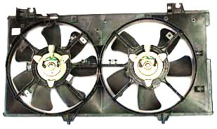 (TYC 621170 Mazda Mazda6 Replacement Radiator/Condenser Cooling Fan Assembly)