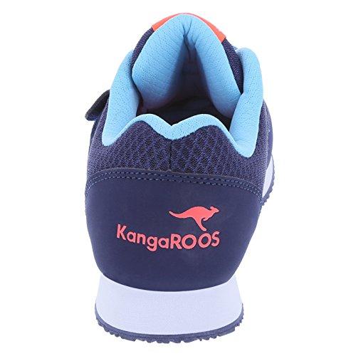 KangaROOS Damen Pocketpass Jogger Navy Coral Fade