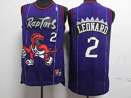 Toronto Raptors Kawhi Leonard # 2 Men/'s Basketball Jersey Suitable for Sweatshirt Parties a Vest Suitable for Outdoor Exercise and Fitness