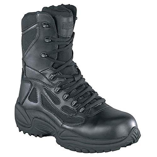 Work Boot, Comp Toe, 8In, Black, 11W, PR