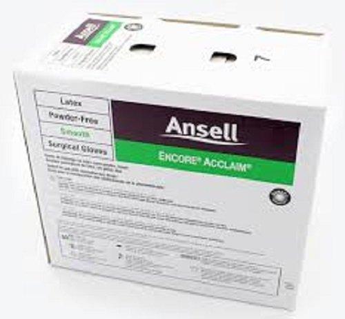 Encore Acclaim Latex Powder-Free Surgical Gloves by Ansell ( GLOVE, SURGICAL, LTX, ENCORE, ACCLAIM, PF, 7 ) 50 Pair / box